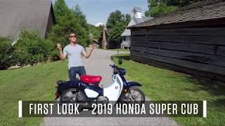 8. 2019 Honda Super Cub - First Look Review
