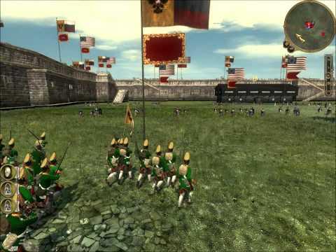 Empire Total War Online Battle #96: Russia vs the 13 Colonies (Siege Battle)