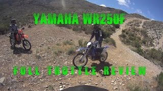 1. 2007 Yamaha WR250F Review
