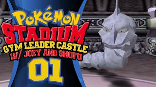 Pokemon Stadium - Gym Leader Castle! w/ shofu & PokeaimMD Episode 01: Pewter City Gym by PokeaimMD