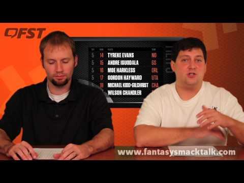 2013-2014 Fantasy Basketball Small Forward Tiers and Rankings