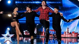 Come on Jonny be Awsum! | Auditions Week 2 | Britain's Got Talent 2017