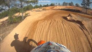 7. A few laps on the 2013 KTM 350 SX-F at Atmore MX