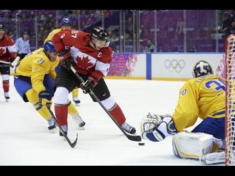 Canada vs Sweden 2014 Olympics Gold Medal!