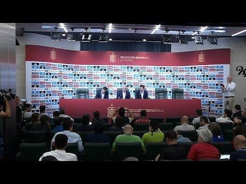 Julen Lopetegui fue destituido como entrenador del seleccionado de España
