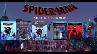 SPIDER-MAN - INTO THE SPIDER VERSE - BLURAY UNBOXING (BLURAY, 4K, TARGET, BEST BUY, WALMART) - BBG