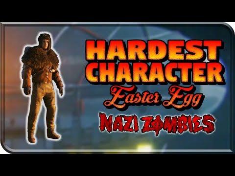 Unlocking The Hardest Character EASTER EGG Challenge In ZOMBIES (Mountaineer Challenge WW2 Zombies (видео)