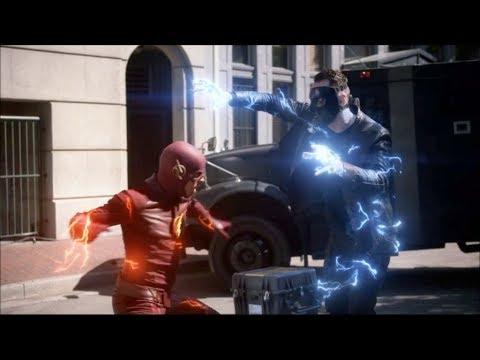 Flash pierde contra Gridlock por la distracción de Nora/XS - THE FLAS 5X01.