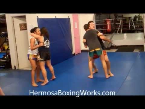 Redondo Beach Muay Thai | Torrance Muay Thai Clinch Basics | (310)376-1602