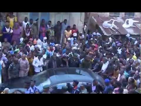 Arrival Of New Ooni Of Ife ( Prince Adeyeye Enitan