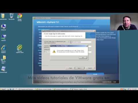 ¿Como instalar VMware vSphere 5.x y Web Client? Parte II