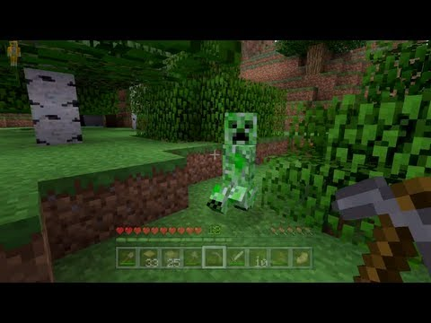 Minecraft Xbox - Quest To Kill The Ender Dragon - Creeper In My Face! (4)
