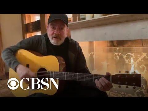 "Neil Diamond changes lyrics to ""Sweet Caroline"" in coronavirus PSA"