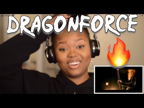Dragonforce- Through The Fire And Flames REACTION!!!