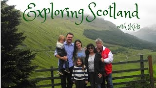 Kid Friendly Vacation in SCOTLAND | See us explore Historic Stirling and Edinburgh Castles