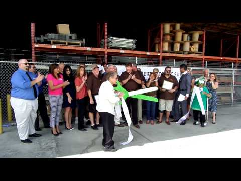 Desert Electric Ribbon Cutting