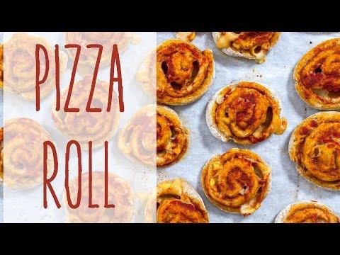 girelle di pizza - ricetta vegan