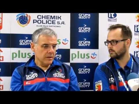 Konferencja prasowa po meczu Chemik Police - SK bank Legionovia 22.11.2014 r.