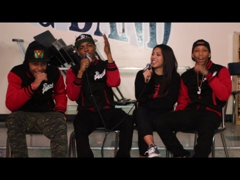 Hotnewhiphop - HNHH sat down with The Rangers at the Celebrity High event at Reseda High School. Check out the interview where they share the story behind