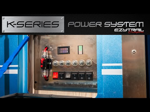 Ezytrail Campers K-Series Power System