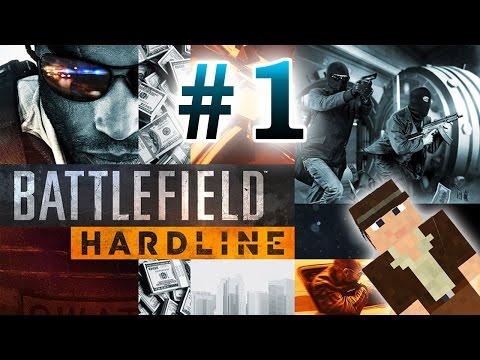 Играю в Battlefield Hardline (1 серия)