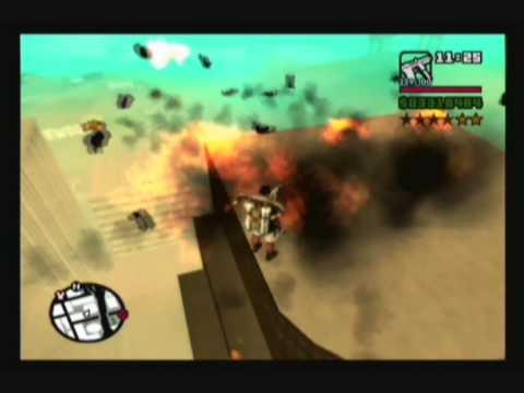 GTA San Andreas: Huge Explosions - Video 1