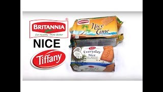 BRITANNIA NICE TIME & TIFFANY EVERYDAY NICE BISCUITS UNBOXING #SNACK UNBOXING BISCUIT