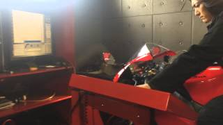 6. CBR1000RR 2007 Akrapovic Exhaust Dyno Run Test by FUCHS