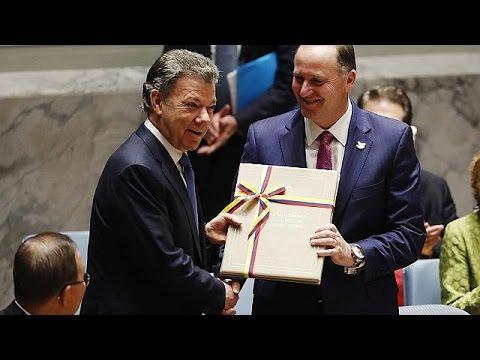 Κολομβία: Ιστορική συμφωνία ειρήνης με τους αντάρτες FARC