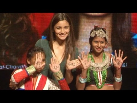 Alia Bhatt Spreads The Awareness On Girls Educatio