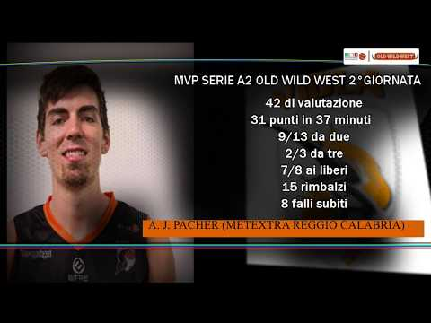 Serie A2 Old Wild West: MVP 2. giornata AJ Pacher