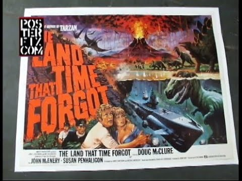 The Land That Time Forgot - British Quad - Doug McClure
