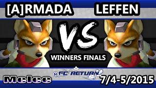 FC Return – [A] Armada (Fox) Vs. TSM | Leffen (Fox) SSBm Winners Finals – Smash Melee