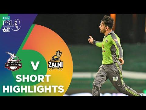 Short Highlights | Lahore Qalandars vs Peshawar Zalmi | Match 17 | HBL PSL 6 | MG2T