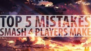 Top 5 Mistakes Smash 4 Players Make – ZeRo
