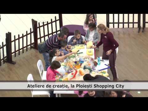 Ateliere de creatie, la Ploiesti Shopping City