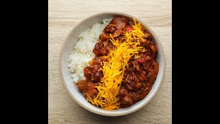 Spicy Slow Cooker Chili by Tasty
