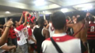 Descendo a rampa do Maracanã juntamente com a Urubuzada. Flamengo 3 X 0 Cruzeiro.