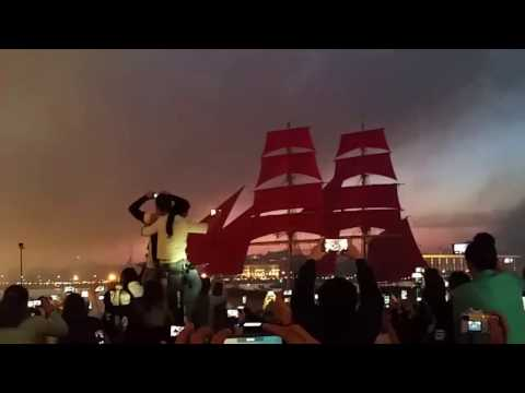 Scarlet Sails Celebration - Saint Petersburg White Nights 2016
