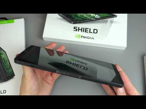 NVIDIA SHIELD Tablet K1 Unboxing and Hands-on