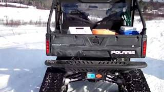 6. Polaris Ranger's With Tracks
