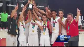 The 14U Ray Allen Select team became the first AAU team of all Wisconsin natives to win a national championshipSubscribe to WISN on YouTube for more: http://bit.ly/1emE5YXGet more Milwaukee news: http://www.wisn.com/Like us: http://www.facebook.com/wisn12Follow us: http://twitter.com/WISN12News