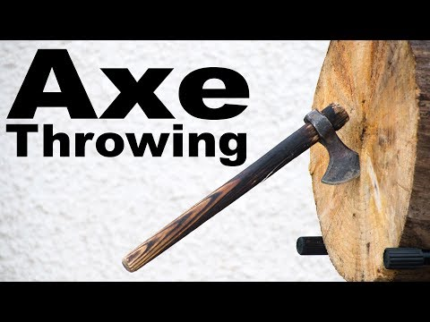 Learning to Throw an Axe