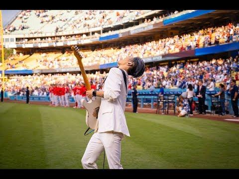 , title : 'MIYAVI Performs the U.S. National Anthem at Dodger Stadium'