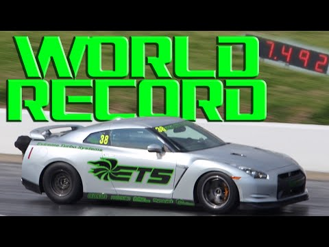 New GT-R WORLD RECORD!!!