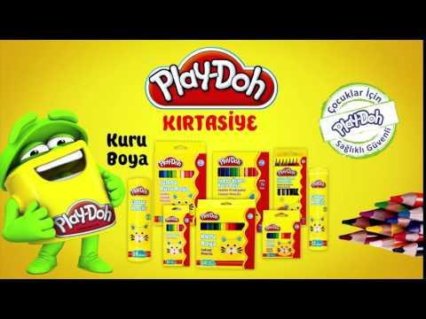 Play-Doh Kırtasiye Kuru Boya - Parmak Boya TV Spot Reklam