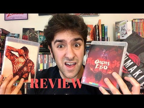 DEADBEAT AT DAWN (1988) And ORGIES OF EDO (1969) Arrow Video Blu-Ray Reviews + UZUMAKI