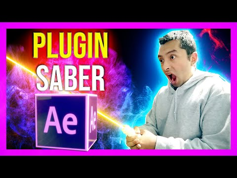 Plugin Saber De Videocopilot  Como Utilizarlo | After Effects Tutorial