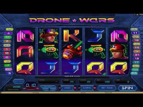 Drone Wars ™ free slot machine game preview by Slotozilla.com
