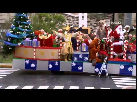 Revive los divertidos momentos de la caravana navideña